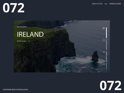 Daily UI 072 - Image Slider ui design image slider daily ui challenge daily ui dailyui daily ui 072