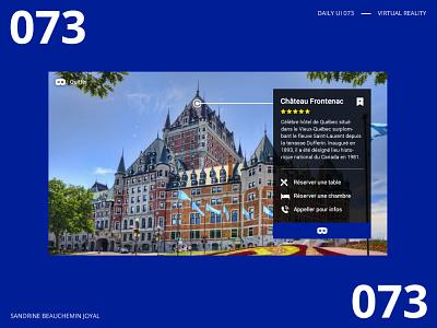 Daily UI 073 - Virtual Reality virtualreality app ux design daily ui challenge daily ui 100 ui daily ui dailyui daily ui 073