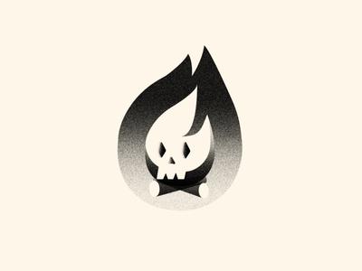 Skull Campfire