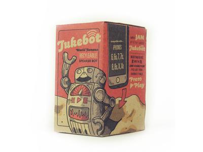 Jukebot Package Design