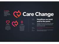 Care Change Logo & Type