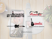 logo Uncut Acoustic by Georgette
