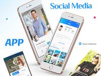 APP Social Media & showcase