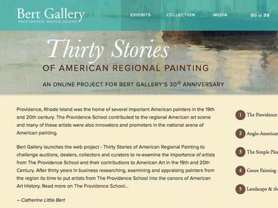 Bert Gallery - Thirty Stories