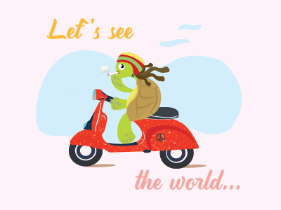 let's see the world!