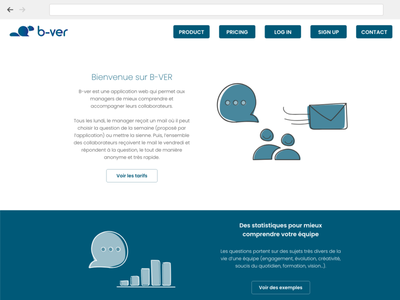 Management website adobe xd css html uidesign ui