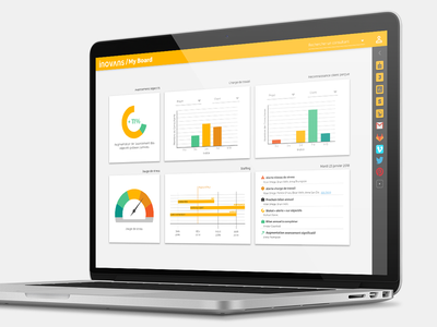 Management App webapp work app uidesign ux ui