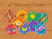 Bananatodo Stickers