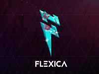 Flexica logo stylizing ⚡