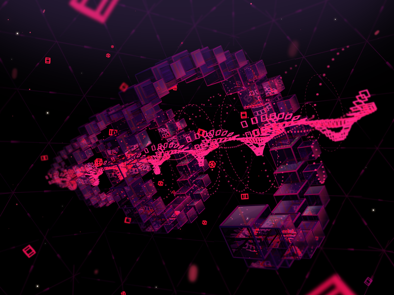 Generative Spiral, Mograph experiment by Anton Moek | Dribbble