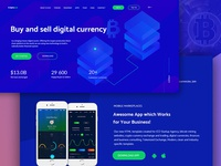 Critoum | Cripto Currency Web Landing Page