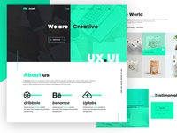helali | Free PSD template Creative & Digital Agency