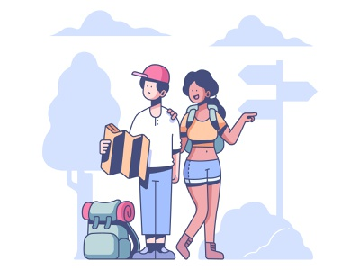 couple travel map girlfriend boyfriend holiday tourist summer trip tourism outdoors lifestyle love people woman vacation together happy man couple travel