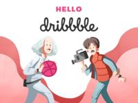 Hello! Dribble