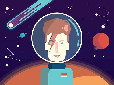 David Bowie Tribute bowie illustration graphic illustration vector illustration illustration vector bowie david bowie davidbowie