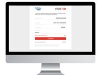 Mockup Desktop Hsbc Payment Page