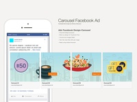 Carousel Ad Facebook SocialMedia Post Advertising