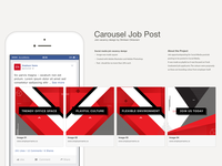 Carousel Social Media Job Post