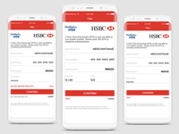 Mobile Banking Payment Page
