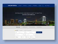 Airline Landing Page
