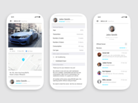 Car Sharing Profile Page - Daily UI Challenge 006