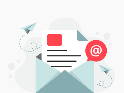 Open Email Illustration