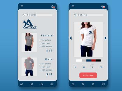 Active wear app