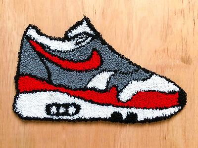 Tufted AirMax handtuft airmax shoe sneaker