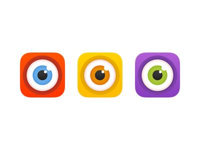 Antenna Icon take #2 color eye reddit icon