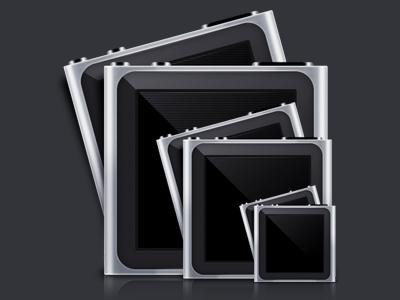 iPod Nano ipod nano icon grey