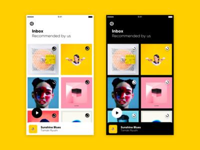 B/W music icon ios iphone
