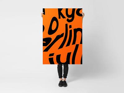 Maus Sans Pt 2 poster typhography font typeface
