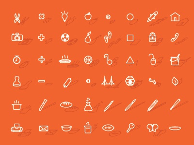 ImpACT Icons impact non-profit icons baking cooking sports photography technology computer painting science history
