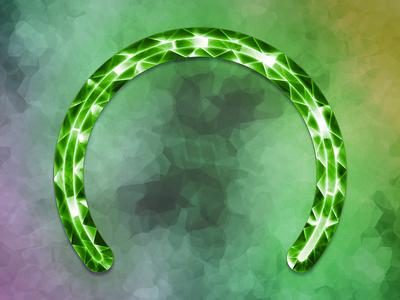 Emerald Circular Completion Bar