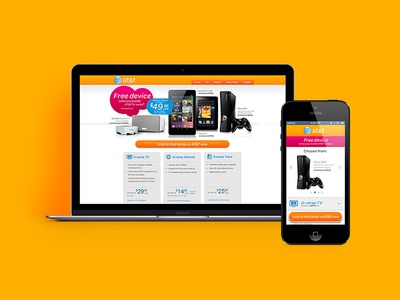 ClearLink Responsive Landing Page