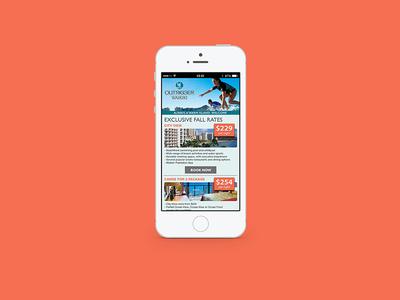 Hotel Mobile Web Landing Page