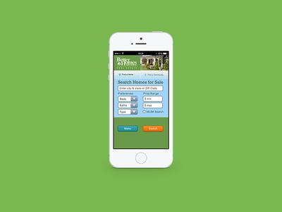 Mobile Web Home Search