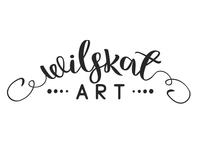 WilsKat Art Logo