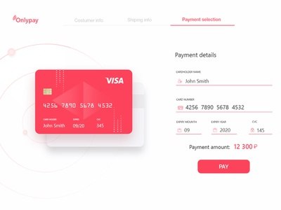 Credit Card Checkout. Daily ui 02 visa pay payment credit card form credit card checkout credit card payment design ux web ui daily ui