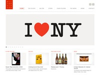 Milton Glaser Studio Website