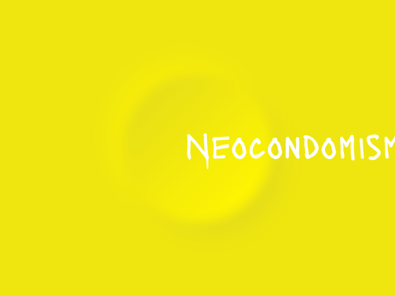 Neocondomism (Neomorphism) Design trend alex kazakov kazaligor new style new concept condom yellow neomorphism neomorphic clean mark logopron typography design ui branding identity graphic design