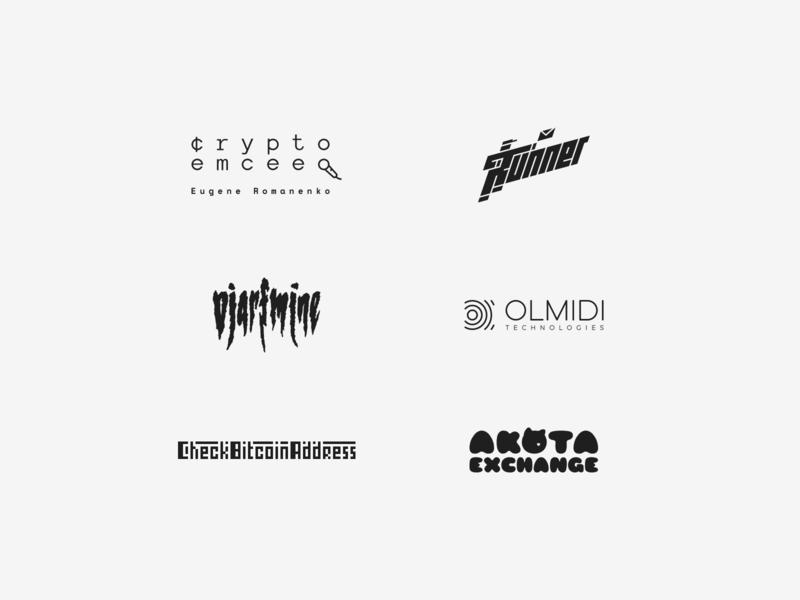 Logopron Logofolio #1 (part 1) minimal design flat icon vector monochrome logofolio portfolio logodesign logos logo design mark clean typography logotype identity branding graphic design logopron logo