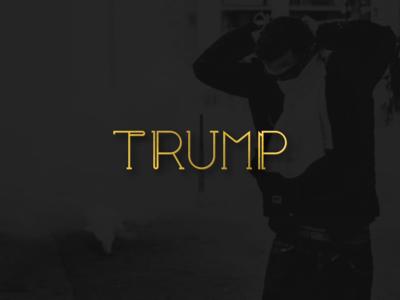trump - putin logodesign logotype minimal design logo design typography logo vector graphic design logopron