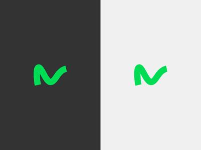 N mark - logo for venture capital firm awesome inspiration capital venture vector grow startup new typography flat clean minimal mark logo design design branding logo identity logopron graphic design
