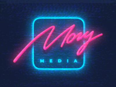 Mogu Media Podcast Logo inspiration 80s 90s awesome nostalgia glitch vhs retrowave retro synthwave vector logotype illustration typography mark graphic design logo branding identity logopron