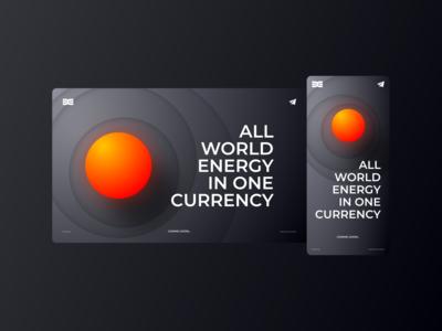 DIXI Energy Website (landing page)