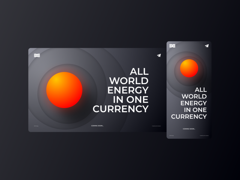 DIXI Energy Website (landing page) dark web design layout creative crypto currency energy website figma landing page webdesign web identity branding kazaligor alexkazakov typography ux ui design illustration