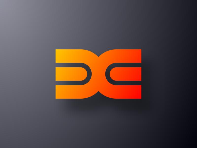 DIXI Energy Color Logo logotype clean gradient icon design color logo design shadow energy geometric crypto currency graphic design illustration mark logopron logo identity kazaligor branding alexkazakov