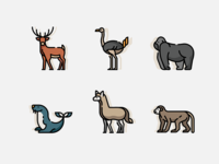 Zoo - Lineal Color Icon