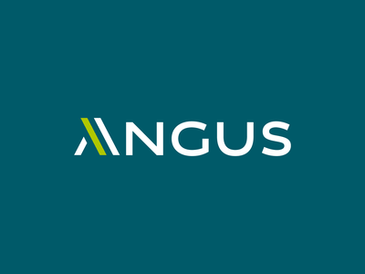 Angus — Insulations & Multiservices inside renovations installations masonry construction company letter logo minimal design symbol vector logotype logo design logo branding brand design
